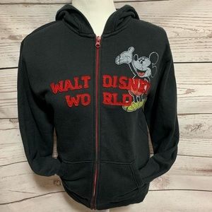 Disney Park Mickey & Friends Zipped Hoodie